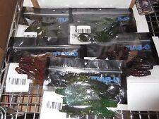 "Lot of 5 Bags of O-Bait DFL Para Bug 4"" flippin plastics 5 different colors"