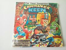 Sellado Commander Keen adiós Galaxy shareware Vintage Juego de PC disco flexible