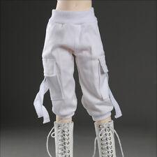 """Dollmore 17"""" 1/4 BJD  MSD - Cargo seven thenths pants (White)[A1]"""