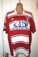 ADIDAS Climacool FC Dallas MLS Soccer Football Men's Jersey XL EUC