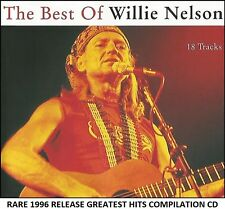 Willie Nelson - Very Best Greatest Hits Collection - RARE 1996 Country Music CD