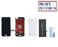 VITRE TACTILE + ECRAN LCD + BATTERIE + OUTIL + VERRE TREMPE IPHONE 7 NOIR