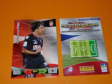 PARK AS MONACO LOUIS II  FOOTBALL FOOT ADRENALYN CARD PANINI 2010-2011