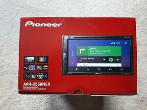 Pioneer AVH-2550NEX Multi-Media Head Unit. Brand new, never installed
