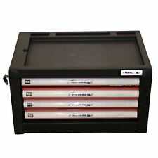 Toolbox Top Half 4 Draws Tool Chest Storage Cabinet Roller Ball Bearing Runners