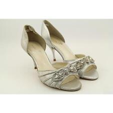 Suede Peep Toe Slim Heels for Women