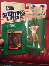 JERRY RICE #80 San Francisco niners 49ers - low s/h - 1989 Starting Lineup HOF