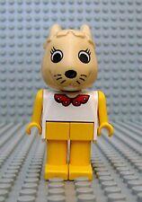 Légo x582c04 Fabuland Personnage Figure Lapin Bunny 4 du 3718 3680 3659 3645
