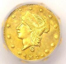 1871 Liberty California Gold Quarter Coin 25C BG-768 - ICG MS64 - $675 Value!