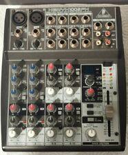 Behringer Xenyx 1002 FX Mischpult 10-Kanal Mixer Effekte Multieffektgerät