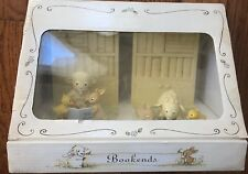 Dayspring Book Ends~Sheep Reading The Bible Stories To Duck & Rabbit~Nib