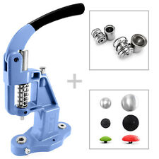 Professional button making press + 2 dies + 100 domed blanks mould machine S032