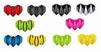 HARDCORE EXTRA THICK 100 MICRON FLIGHTS - 4 Sets Per Pack (12 Flights in Total)