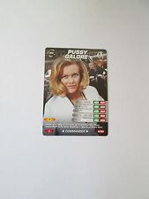James Bond 007 Spy Common card 043 Pussy Galore (Test series)