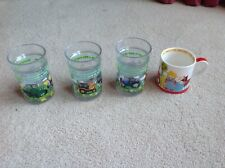 3 x Tractor Ted Tumblers with Floating Tractors & Animals + Old Macdonald Cup
