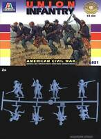 Italeri model 6851 1/32 UNION INFANTRY (AMERICAN CIVIL WAR) 54mm