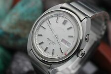 Vintage SEIKO Bell-Matic Alarm Automatic 27j 4006-7000 Stainless St. Men's Watch