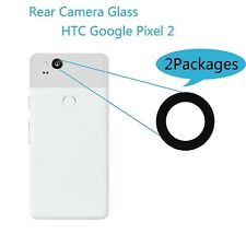 NEW 2Pack Back Rear Camera Glass Lens Cover Replacement For HTC Google Pixel 2