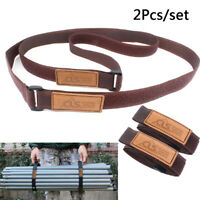 2X Durable Travel Luggage Strap Suitcase Baggage Belt Tie Outdoor Camping DD