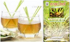 12x LEMON GRASS TEA BAG Organic Leaf Cymbopogon Citratus Low Cholesterol Cold