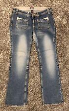 """Fiorucci Bootcut Stretch Jeans Size 13 Inseam 32"""""""