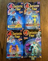 Fantastic 4 Four Vintage Action Figures Lot New 1995 Skrull Attuma Blastaar 90s