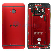Original HTC One M7 Akkudeckel Rot Deckel Schale Battery Gehäuse Back Cover Red