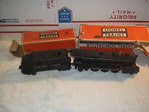 Lionel 2035 2-6-4 Steam Engine with 6466W Tender Pre Owned