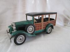 Antique Pot Metal Hubley Toy 1930's Ford Woody Model Made in Early 60's