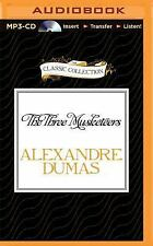 The Three Musketeers by Alexandre Dumas (2015, MP3 CD, Unabridged)