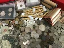 ESTATE LOT SALE RARE US CURRENCY GOLD BULLION OLD SILVER COINS HOARD VINTAGE