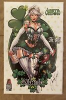 SOLD OUT: WHITE WIDOW #1 - TYNDALL - ST. PATRICK'S DAY EXCLUSIVECOVER