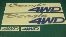Cívico Lanzadera Beagle Wagon 4WD Calcomanías Pegatinas Gráficos Raro JDM nos SOHC DOHC