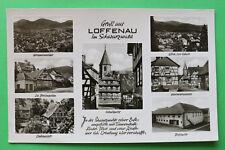 AK GRUSS da Loffenau 1968 FISSO SALA reticolare CASE buco frantoio VACANZE CASA STR. w4
