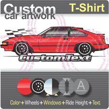 Custom T-shirt 1982 83 1984 1985 86 Toyota Supra Celica XX Mark II MkII P L-type