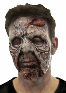 COUPE DE GROSS ZOMBIE FACE UNDEAD GORY GRUESOME PROSTHETIC COSTUME CSWO753