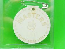 1964 Masters Badge won by Arnold Palmer