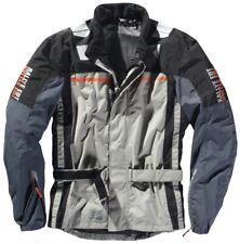 DIFI Motorrad-Regenjacke Terra East Rain AX grau-orange Gr. XL