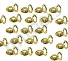 10mm Hole 20mm Tarpaulin Eyelets / Grommet For Sail & Ground Sheet Tents 25 Sets