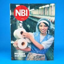 NBI 9/1989 - Flöha Raben Steinfeld Spartakiade von der Lippe - DDR-Zeitschrift
