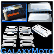 09-14 Ford F150 Chrome HALF Mirror+4 Door Handle+no keypad+PSG KH+Tailgate Cover