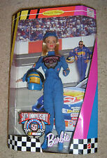 50th Anniversary NASCAR Barbie Collector's Edition Doll  1998  #20442 NRFB