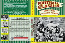 1958 and 1959 Green Bay Packers - Transition to Lombardi Years now on DVD!