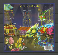 FRANCE 2009...Miniature Sheet n° F4378 MNH...La Fête Foraine