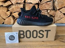 Adidas Yeezy Boost 350 V2 Core Black/Red BRED CP9652 UK 6 EU 39 1/3 Authentic
