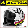 CASCO JET ACERBIS X-JET ON BIKE MULTI COLORE BIANCO/NERO LUCIDO MOTO SCOOTER