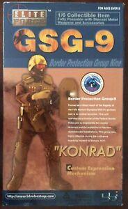 """Elite Forces  1/6 GSG-9 """"Konrad"""" with Custom Expression Mechanisim"""