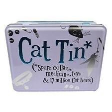 Bright Side Cat Tin For Spare Collars, Medicine and Toys Kitten Pet Accesories