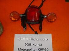 03 04 05 06 07 HONDA Metropolitan scooter jazz rear taillight turn signals oem