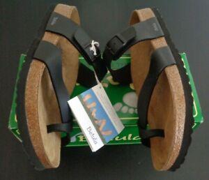 BIRKENSTOCK Mia BETULA Black Strapped Sandals NEW Women's Size 42 US 11 Narrow